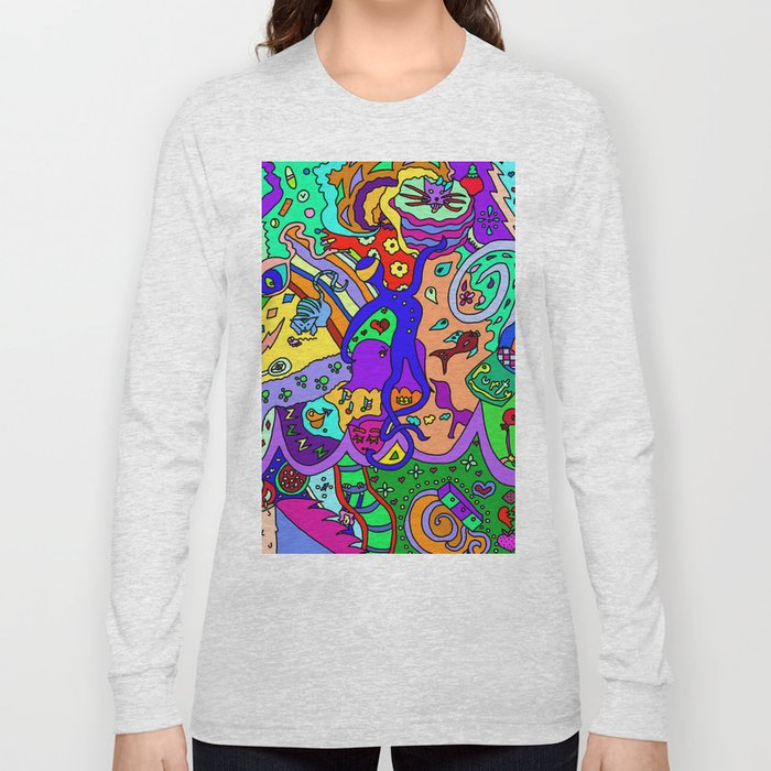 Abstract 35 Long Sleeve T-shirt