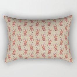 gecko pattern Rectangular Pillow