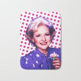 Betty White - Pop Art Bath Mat