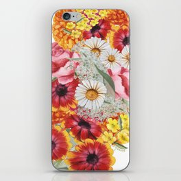 Wildflowers Art Print iPhone Skin