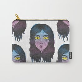 Reptile Girl Carry-All Pouch