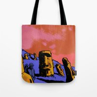 easter Tote Bags featuring Easter by dvhstudios