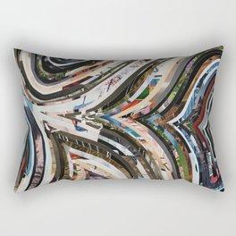 Marble Wisdom Love Veins 1 Rectangular Pillow
