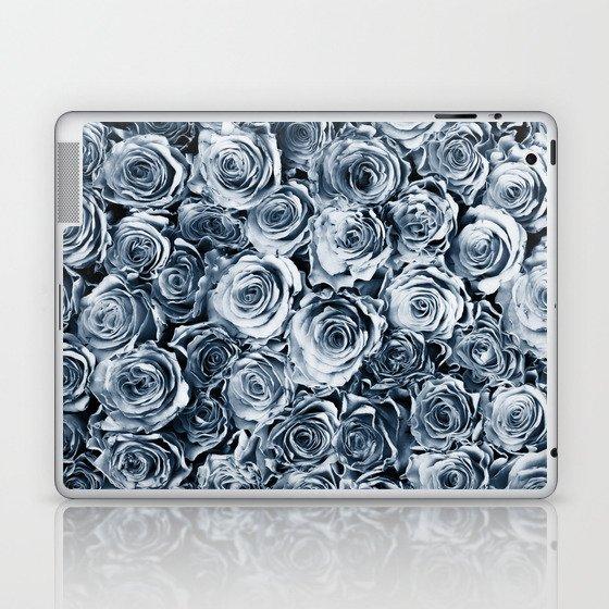 Blue Roses Laptop & iPad Skin