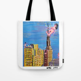 Big Egos out there Tote Bag