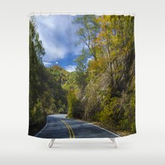 Moutain top  Shower Curtain