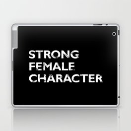 Strong Female Character Laptop & iPad Skin