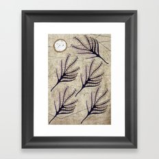 Seeds and Ring Framed Art Print