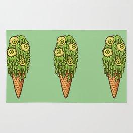 Mutant Ice Cream (slime) Rug