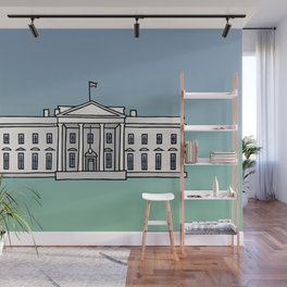 The White House in Washington, D.C. Wall Mural