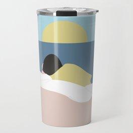 Feelings into sunset Travel Mug
