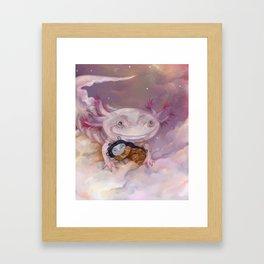 A good place Framed Art Print