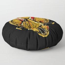 Skull Spartan Floor Pillow