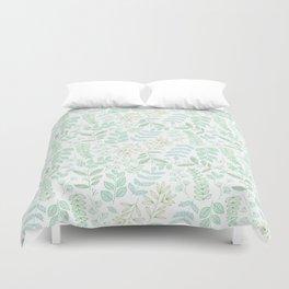 For the love of green Duvet Cover