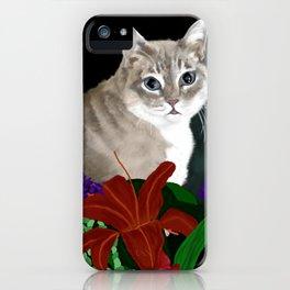 Beloved Kitty iPhone Case
