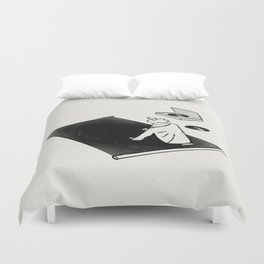 Tune In Duvet Cover