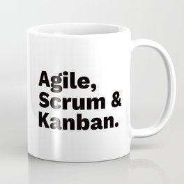 Agile, Scrum & Kanban Coffee Mug