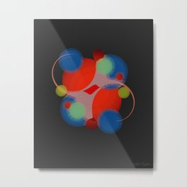 Law of Attraction Metal Print