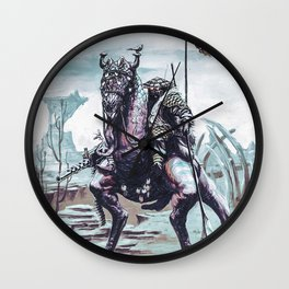 Jumpy Rider Wall Clock
