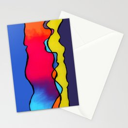 CALIFORNIA WAVE Stationery Cards