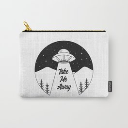 'Take Me Away' UFO Carry-All Pouch