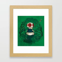 Toad Framed Art Print