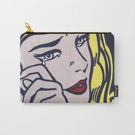 Roy Lichtenstein, Crying Girl, 1964 Carry-All Pouch