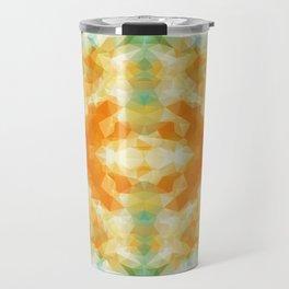 """Poncho mood"" triangles design Travel Mug"