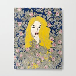 Jene #society6 #decor #buyart Metal Print