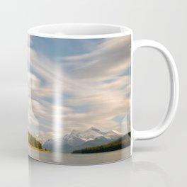 MALIGNE LAKE AUTUMN JASPER CANADA LANDSCAPE PHOTOGRAPHY Coffee Mug