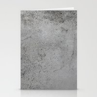 concrete Stationery Cards featuring Concrete by Coconuts & Shrimps
