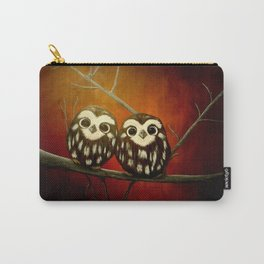 Baby Owls Carry-All Pouch
