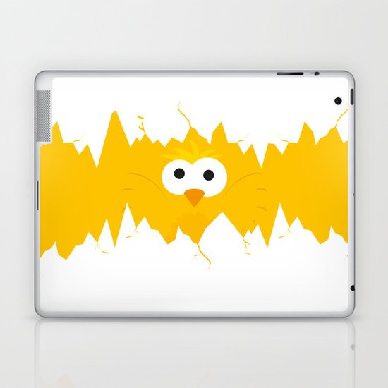 Minimal Chick Laptop & iPad Skin