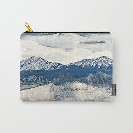 Spanish Peaks Carry-All Pouch