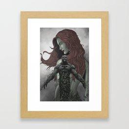 Toxic Love. Framed Art Print