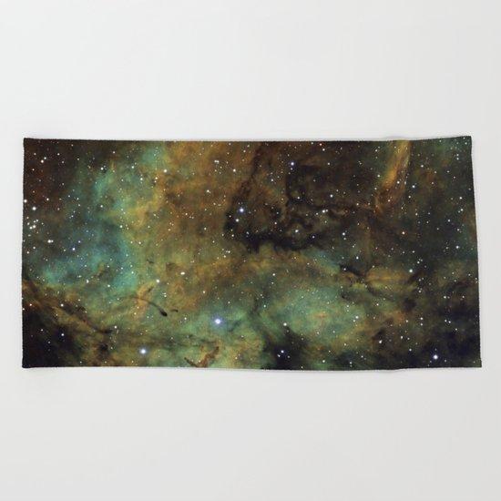 Gamma Cygni Nebula Beach Towel
