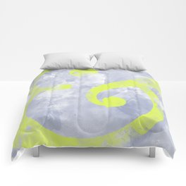 Grungy Ampersand Comforters