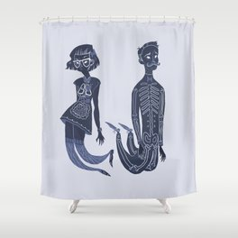 I think we work well Shower Curtain