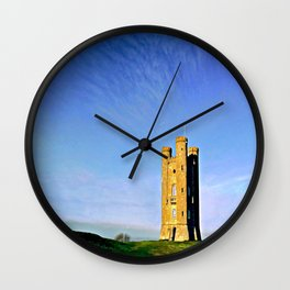 Broadway Tower, colour version. Wall Clock