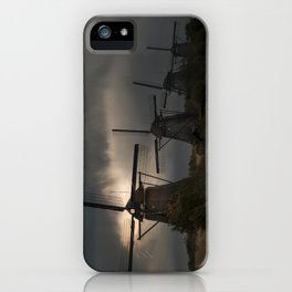 Dutch Windmills in Kinderdjik iPhone Case