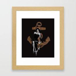 Never Forever Framed Art Print