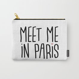 Meet me in Paris Carry-All Pouch