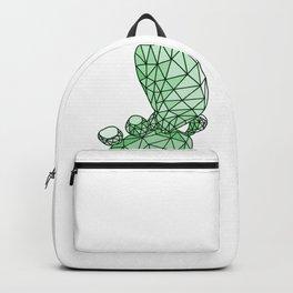 Geometric Prickly Pear Cactus I Backpack
