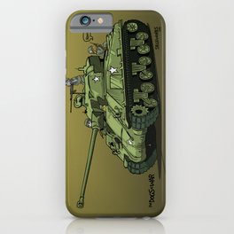 Dogs of War: Sherman Tank iPhone Case