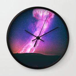 Jellyfish Liftoff Wall Clock