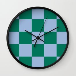 Checked Trendy Lifestyle Pattern Lamia Wall Clock