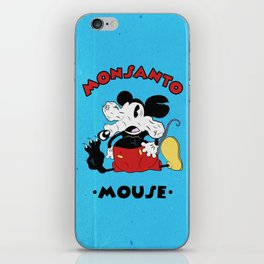 Monsanto Mouse iPhone Skin