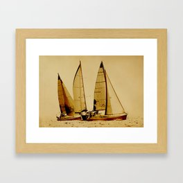 sailrace Framed Art Print