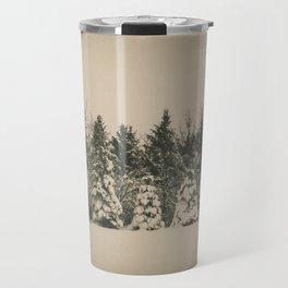 After the Blizzard, Bismarck, North Dakota Travel Mug