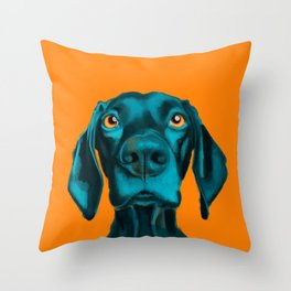 The Dogs: Buddy Throw Pillow